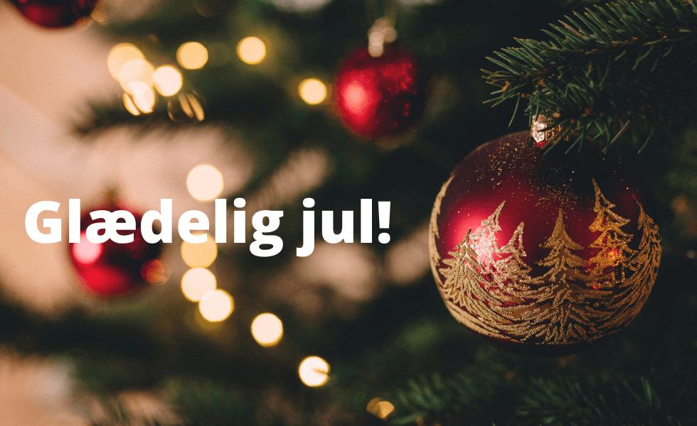 Glædelig jul til vores standhaftige medlemmer :-)